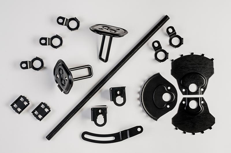 A collection of zinc plated metal products for a wide variety of industries.